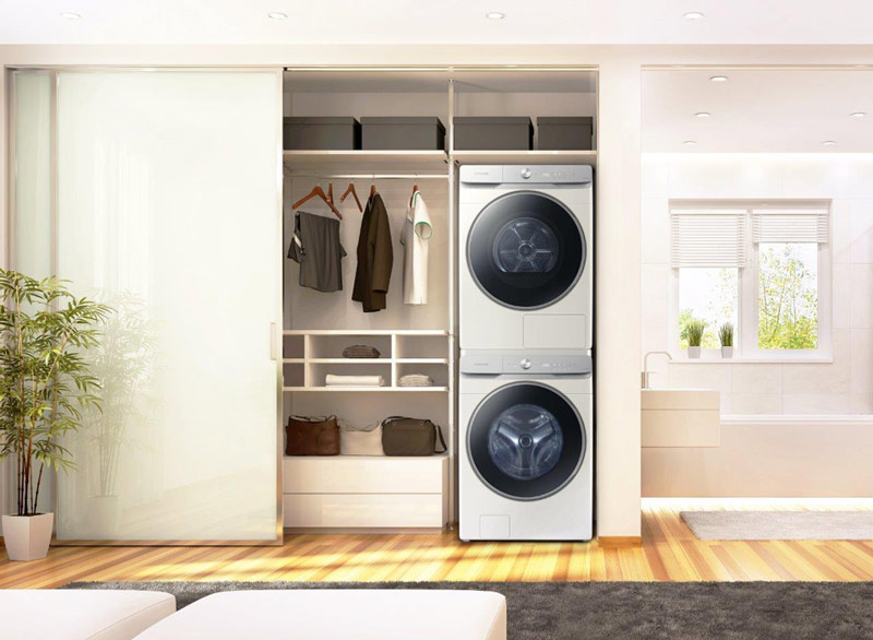 Mencuci Smart dengan Samsung Smart EcoBubble™ Washer